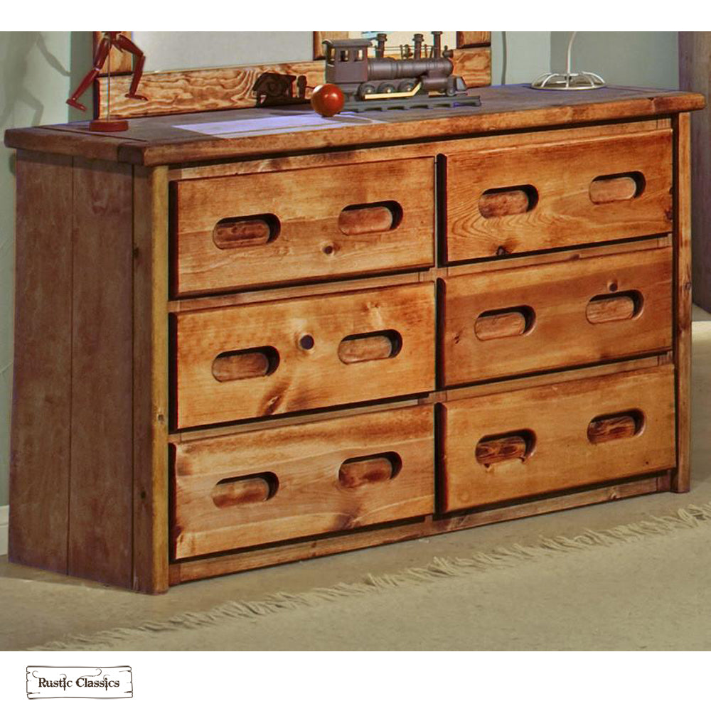 tiller dresser vtil burke drawer decor in det rustic products tan wood saddle