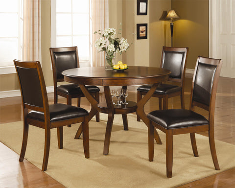 Calgary Round Dining Table Set