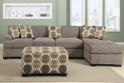 Hayward Sandstone Sectional Sofa Set With Right Facing chaise by Urban Cali