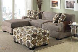 Hayward Sandstone Small Sectional Sofa Set With Left facing Chaise by Urban Cali