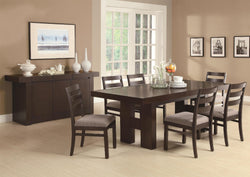 Toronto Double Pedestal Dining Room Set
