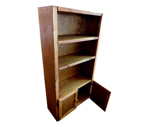 Pine Bookcase in Amber Wash