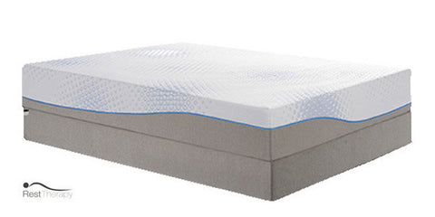 12 Inch Biscayne Breeze Gel Memory Foam Mattress