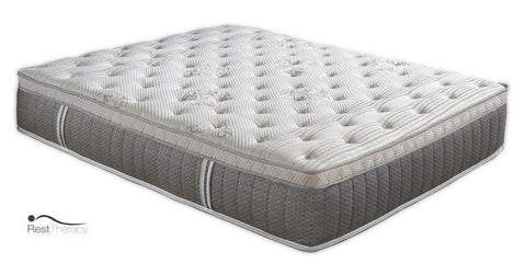 12 Inch Comet Euro Top Pocket Coil Mattress with Gel Foam