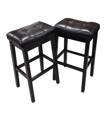Sale Capilano Upholstered Seat Bar Stool Set