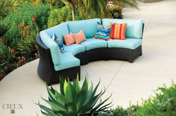 Provence Curved Small Sectional