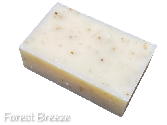 "Natural Bar Soaps, Certified ""Made with Organic"""