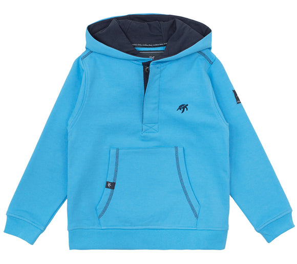 Childrens Boatyard Button Up Hood - Breeze