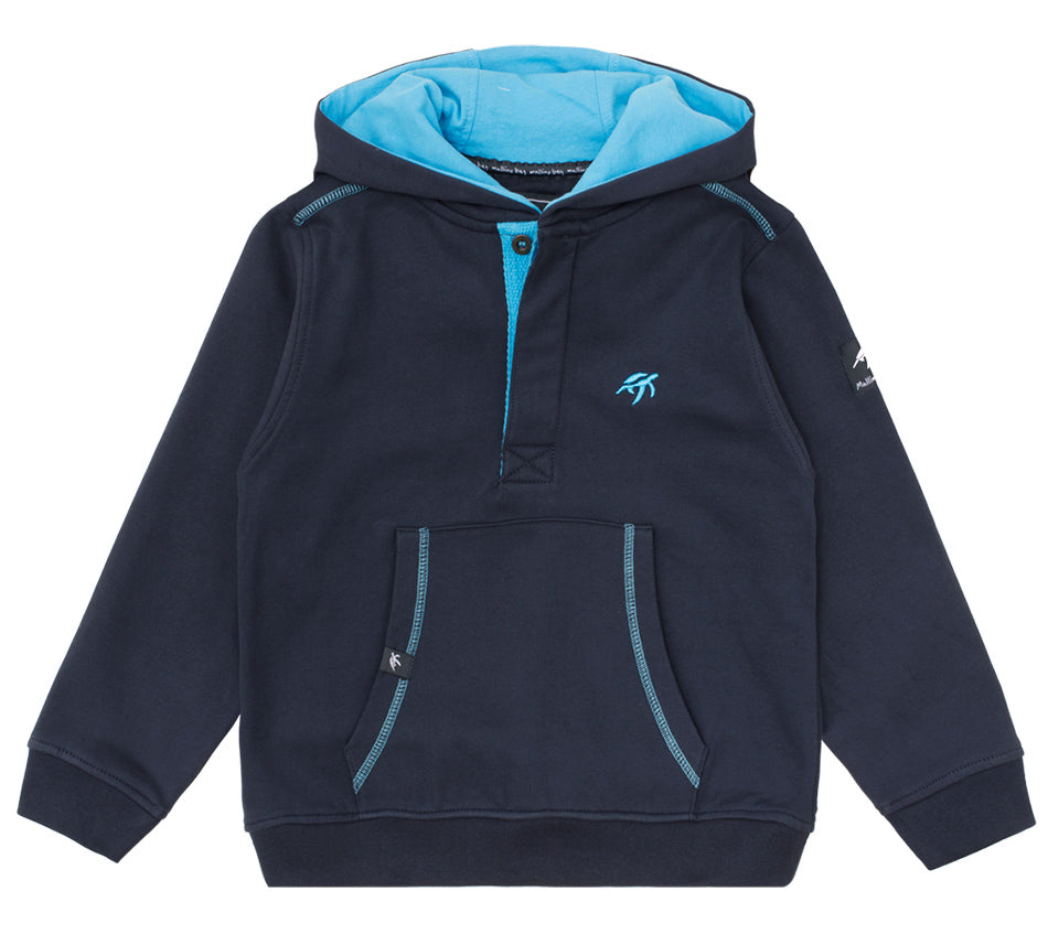Childrens Boatyard Button Up Hood Harbour