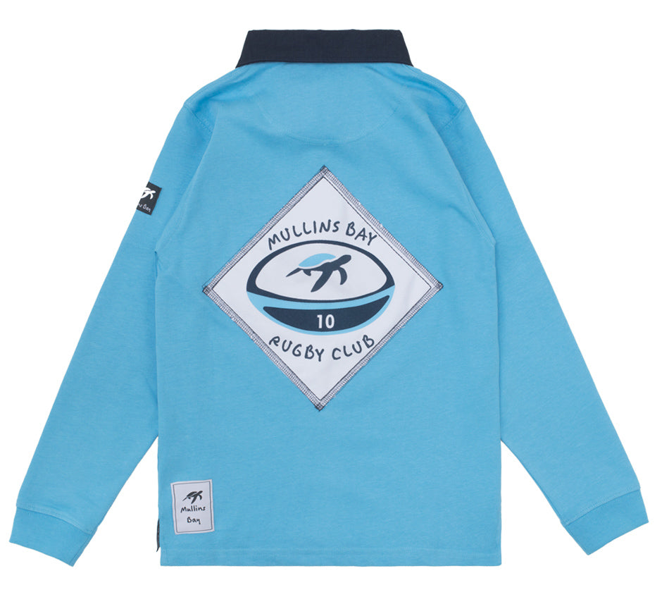 Childrens Mullins Club Rugby Shirt Breeze