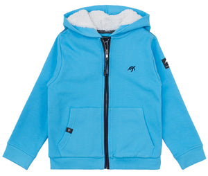 Childrens Boatyard  Full Zip Hood - Breeze
