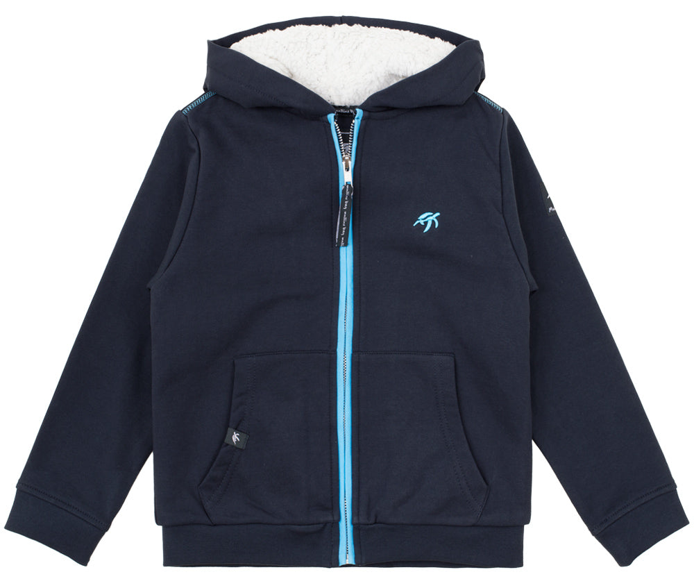 Childrens Boatyard Full Zip Hood Harbour
