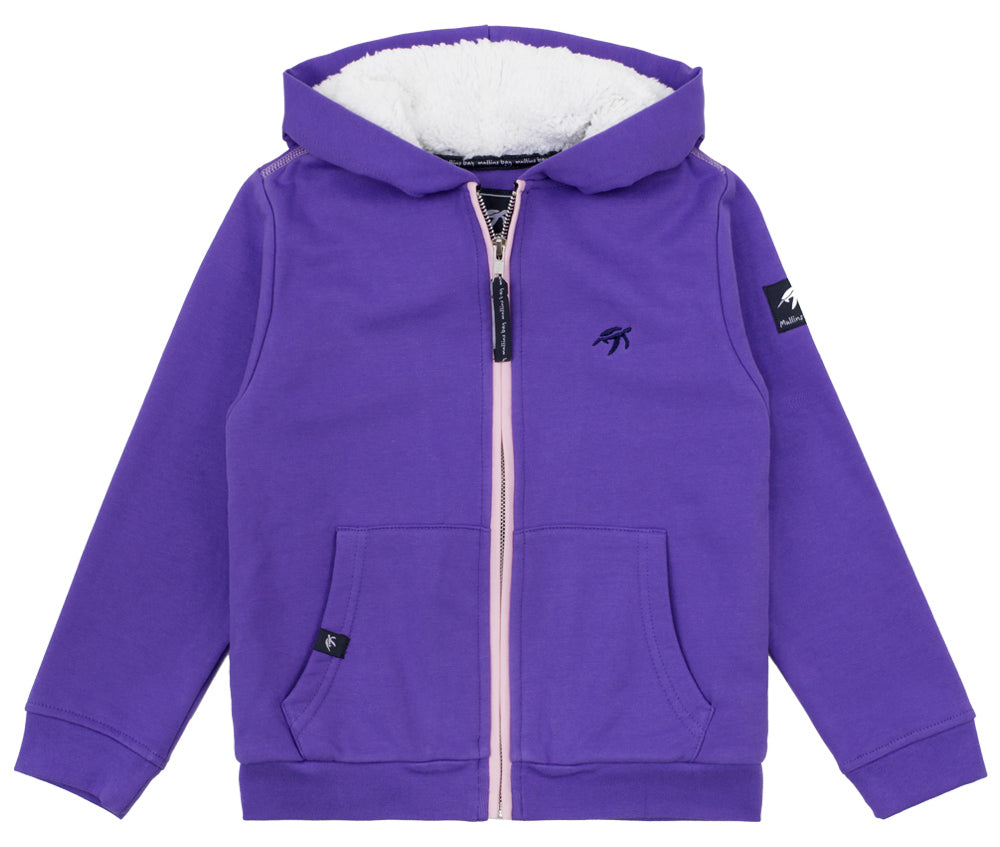 Childrens Boatyard  Full Zip Hood Indigo Haze