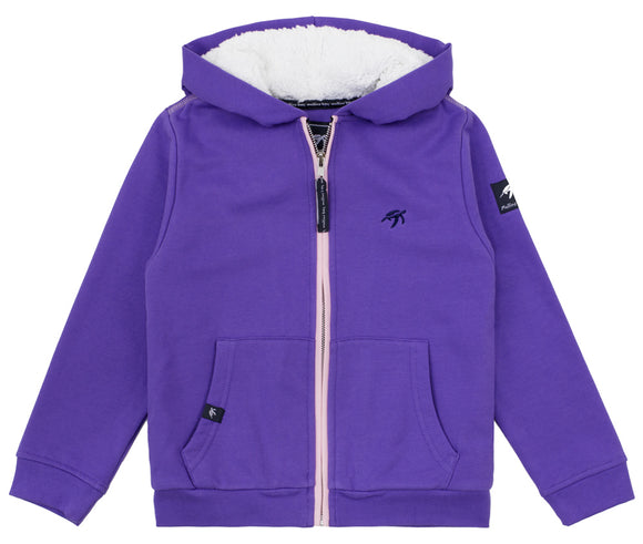 Childrens Boatyard  Full Zip Hood - Indigo Haze