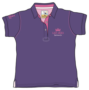 Lazy Jacks Childrens Polo Shirt - Purple