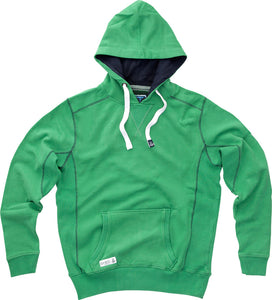 Lazy Jacks Hooded Plain Sweatshirt - Emerald