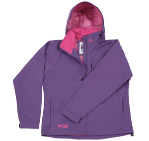 Lazy Jacks Ladies Waterproof Jacket - Purple