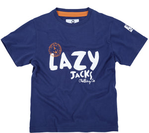 Lazy Jacks Childrens Short Sleeve Printed T-Shirt - Twilight