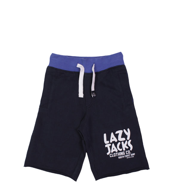 Lazy Jacks Childrens Jersey shorts - Marine