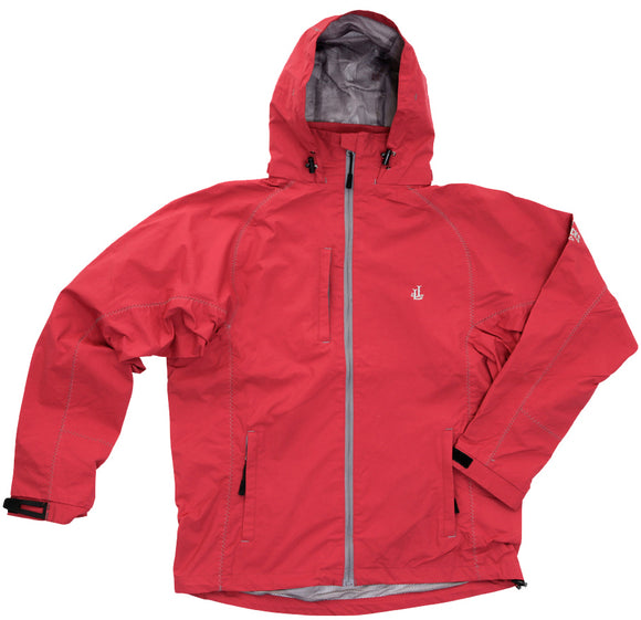 Lazy Jacks Mens Performance Waterproof Jacket - Red