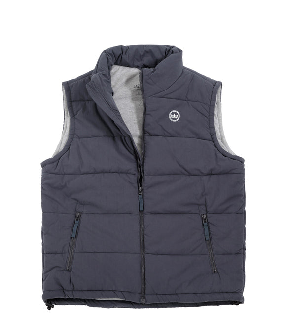 Lazy Jacks Mens Gilet - Ink