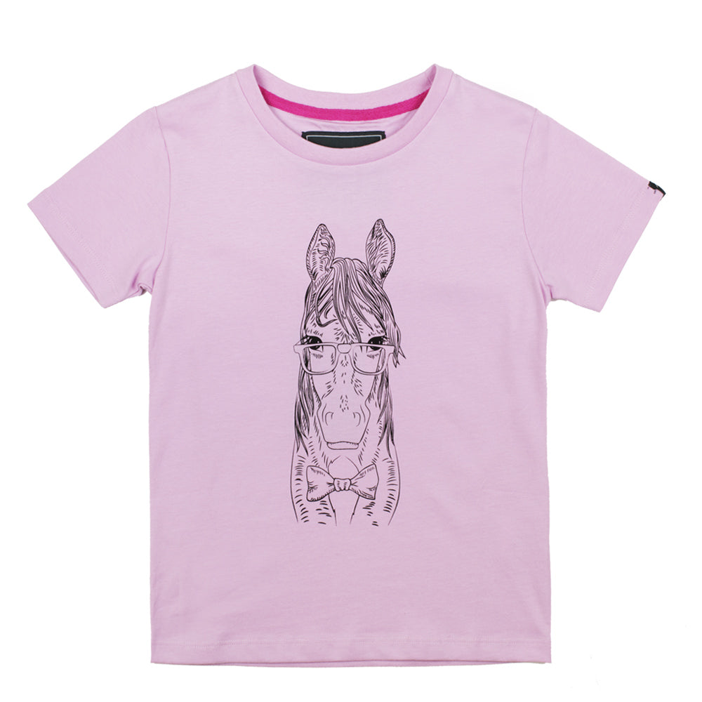 Childrens Pink Short Sleeved T-Shirt