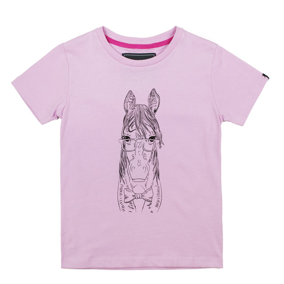 Childrens Short Sleeved T-Shirt - Pink