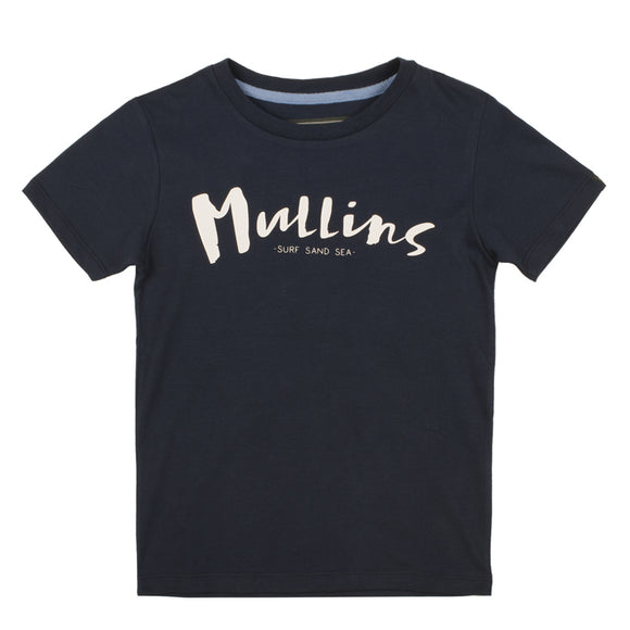Childrens Short Sleeved T-Shirt - Navy