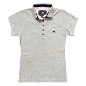 Ladies Mullins Club Polo Shirt - Grey Marl