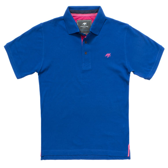 Mullins Bay Unisex Polo Shirt - Electric Blue