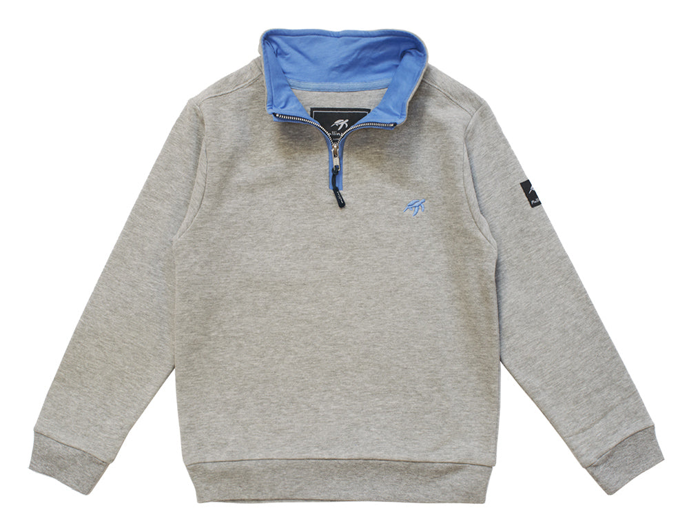 Childrens West Coast Sweatshirt - Grey
