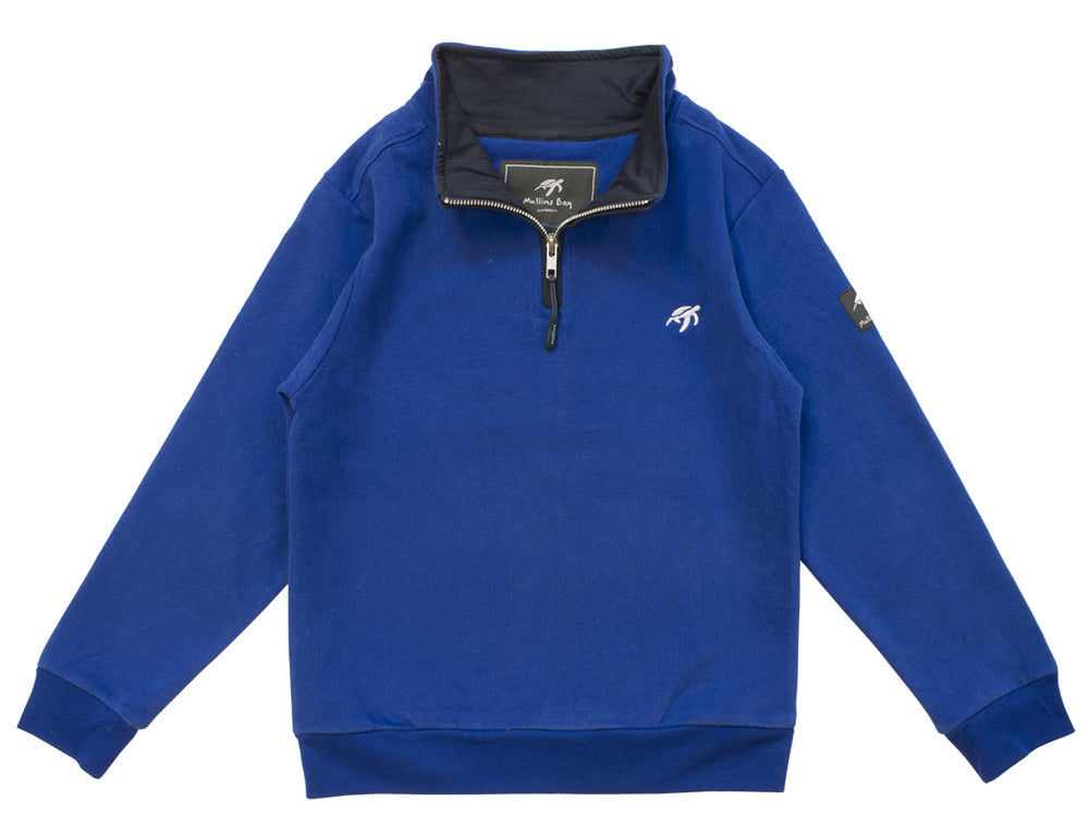 Childrens West Coast Sweatshirt - Electric Blue