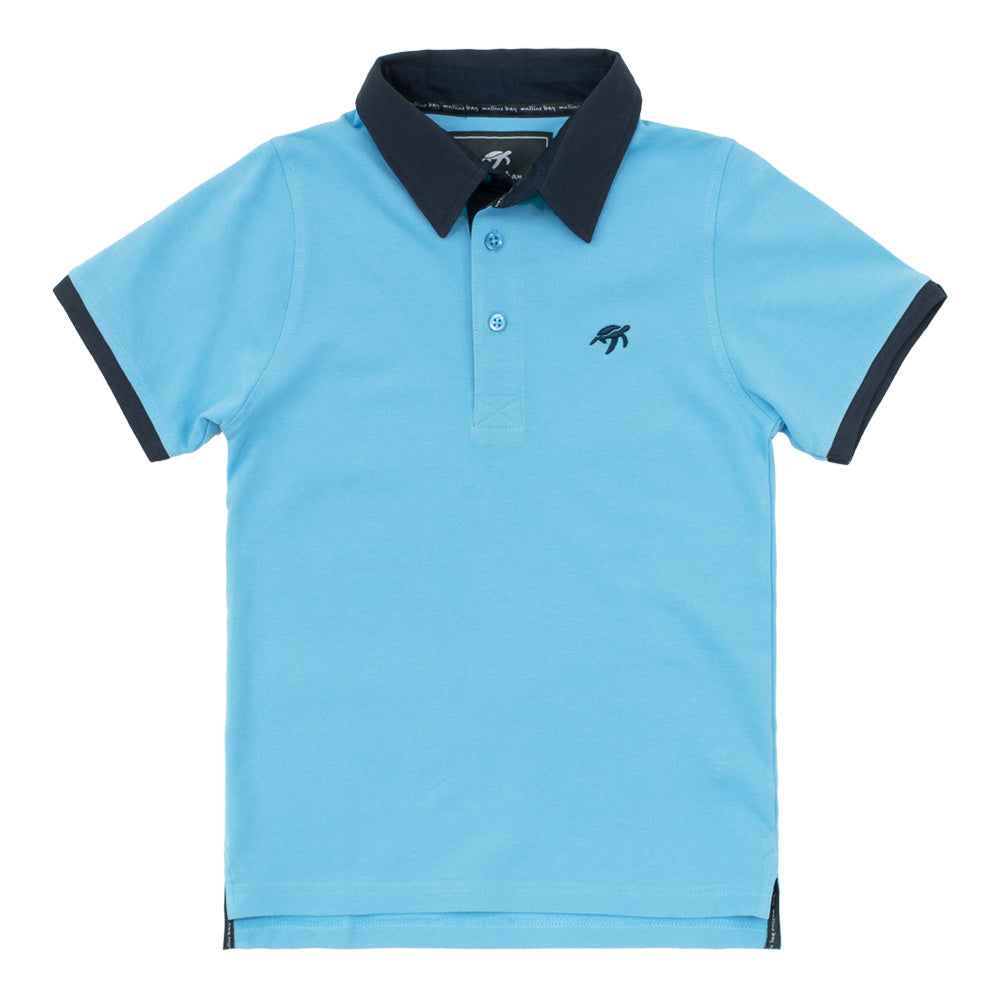 Childrens Mullins Club Polo Shirt Breeze