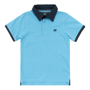 Childrens Mullins Club Polo Shirt - Breeze