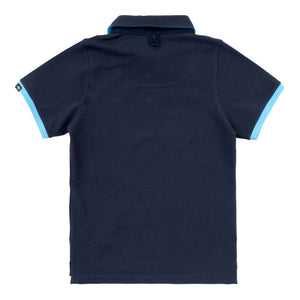 Childrens Mullins CLub Polo Shirt Harbour Blue