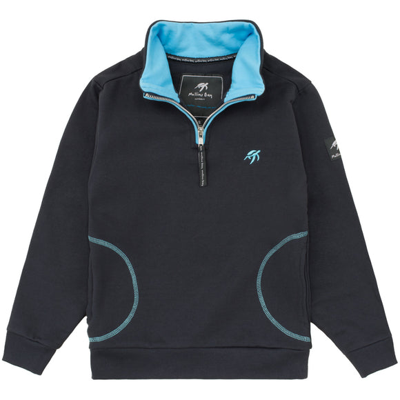 Childrens West Coast Sweatshirt - Harbour Blue