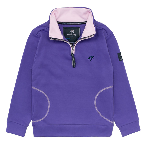Childrens West Coast Sweatshirt - Indigo Haze