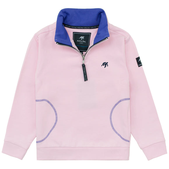 Childrens West Coast Sweatshirt - Ice Pink