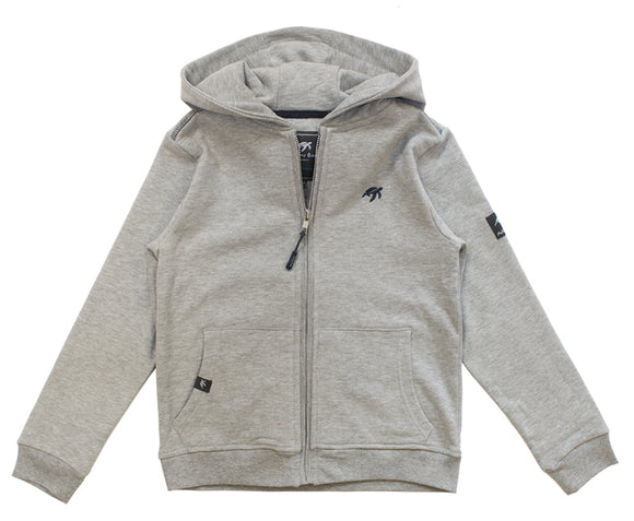 Childrens Boatyard  Full Zip Hood - Grey