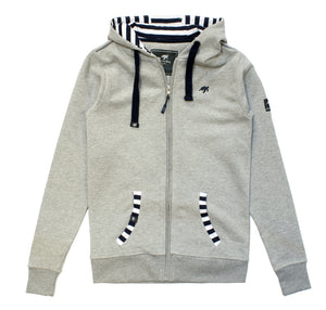 Ladies Boatyard Full Zip Hoodie - Grey