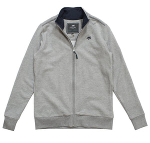 Ladies West Coast Zip Thru Sweatshirt - Grey