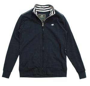 Ladies West Coast Zip Thru Sweatshirt - Navy