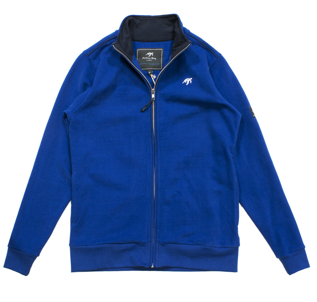 Ladies West Coast Zip Thru Sweatshirt - Electric Blue