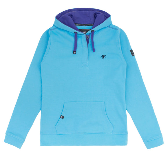 Ladies Boatyard Button Up Hoodie - Breeze