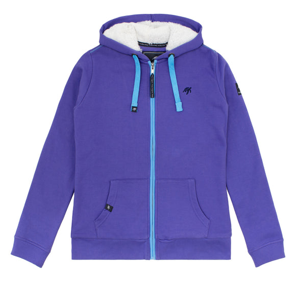 Ladies Boatyard Full Zip Hoodie - Indigo Haze