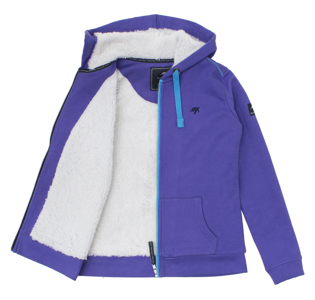 Ladies Boatyard Full Zip Hood Indigo Haze