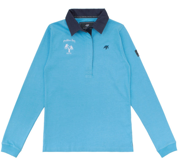 Ladies Mullins Club Rugby Shirt - Breeze