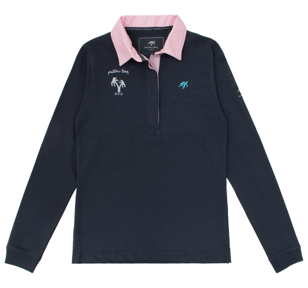 Ladies Mullins Club Rugby Shirt - Harbour