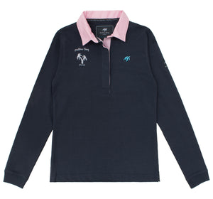 Ladies Mullins Club Rugby Shirt Harbour