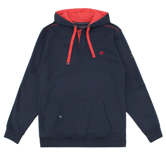 Unisex Boatyard Button Up Hoodie - Harbour